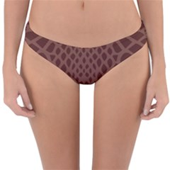 Autumn Animal Print 5 Reversible Hipster Bikini Bottoms by tarastyle