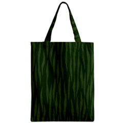 Autumn Animal Print 7 Zipper Classic Tote Bag by tarastyle