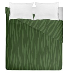 Autumn Animal Print 7 Duvet Cover Double Side (queen Size) by tarastyle
