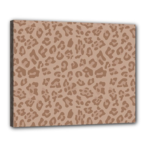 Autumn Animal Print 9 Canvas 20  X 16  by tarastyle
