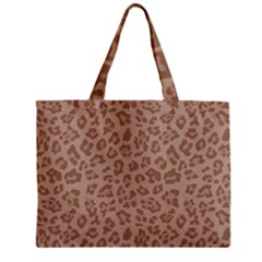 Autumn Animal Print 9 Zipper Mini Tote Bag by tarastyle