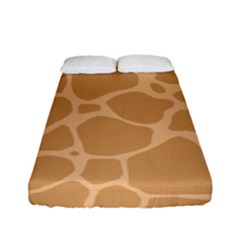 Autumn Animal Print 10 Fitted Sheet (Full/ Double Size)