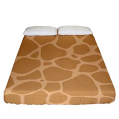 Autumn Animal Print 10 Fitted Sheet (California King Size)