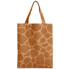 Autumn Animal Print 10 Zipper Classic Tote Bag