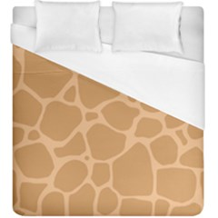 Autumn Animal Print 10 Duvet Cover (king Size) by tarastyle