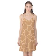 Autumn Animal Print 10 Camis Nightgown