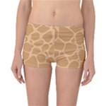 Autumn Animal Print 10 Reversible Boyleg Bikini Bottoms