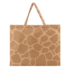 Autumn Animal Print 10 Zipper Large Tote Bag by tarastyle