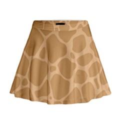 Autumn Animal Print 10 Mini Flare Skirt