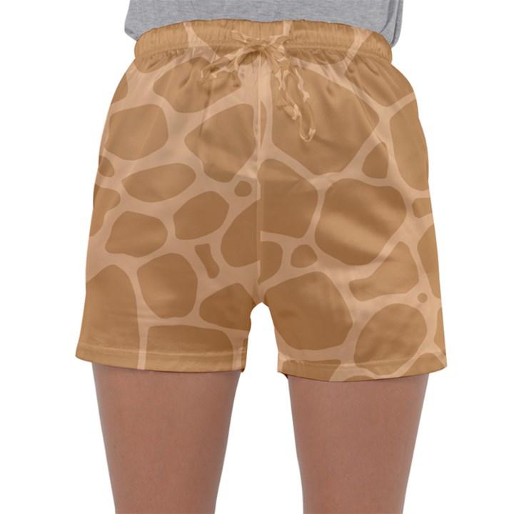 Autumn Animal Print 10 Sleepwear Shorts