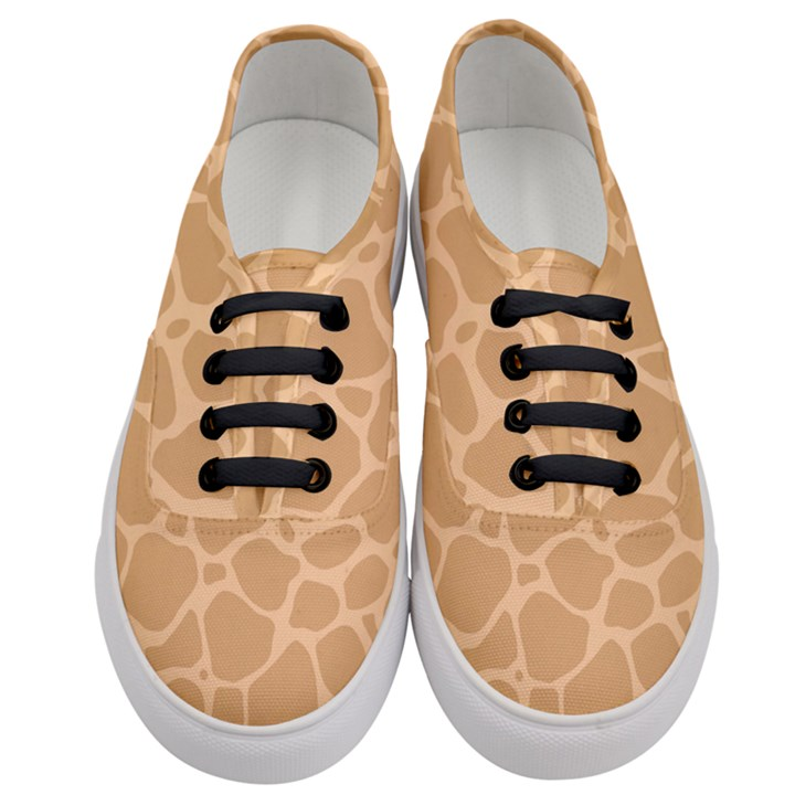 Autumn Animal Print 10 Women s Classic Low Top Sneakers