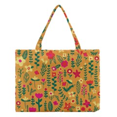 Cute Doodle Flowers 4 Medium Tote Bag by tarastyle