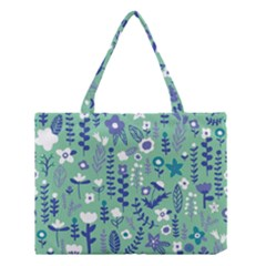 Cute Doodle Flowers 9 Medium Tote Bag by tarastyle