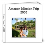 amazon - 8x8 Photo Book (20 pages)
