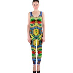 L ooera In Lyrical Abstraction Onepiece Catsuit by DeneWestUK