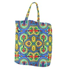 L ooera In Lyrical Abstraction Giant Grocery Zipper Tote