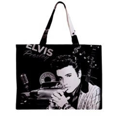 Elvis Presley Collage Zipper Mini Tote Bag by Valentinaart