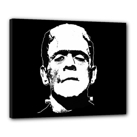 Frankenstein s Monster Halloween Canvas 20  X 16  by Valentinaart