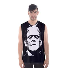 Frankenstein s Monster Halloween Men s Basketball Tank Top