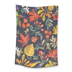 Autumn Flowers Pattern 8 Small Tapestry by tarastyle