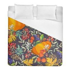 Autumn Flowers Pattern 12 Duvet Cover (full/ Double Size) by tarastyle