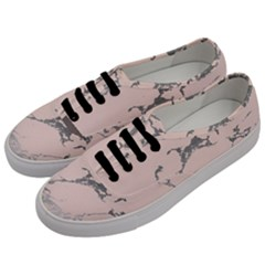 Luxurious Pink Marble 1 Men s Classic Low Top Sneakers by tarastyle