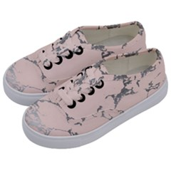 Luxurious Pink Marble 1 Kids  Classic Low Top Sneakers by tarastyle