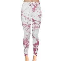 Luxurious Pink Marble 4 Leggings  by tarastyle