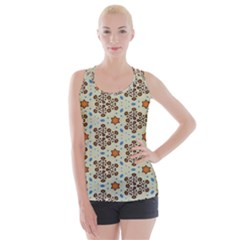 Stars And Other Shapes Pattern                              Criss Cross Back Tank Top