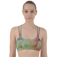 Painted Canvas                                    Line Them Up Sports Bra