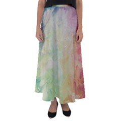Painted Canvas                               Flared Maxi Skirt by LalyLauraFLM