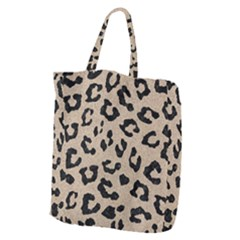 Skin5 Black Marble & Sand (r) Giant Grocery Zipper Tote by trendistuff