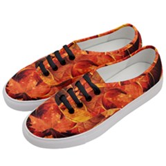 Ablaze With Beautiful Fractal Fall Colors Women s Classic Low Top Sneakers by beautifulfractals