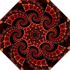 Chinese Lantern Festival For A Red Fractal Octopus Golf Umbrellas by beautifulfractals