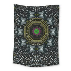 Leaf Earth And Heart Butterflies In The Universe Medium Tapestry by pepitasart