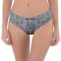 Rasta Men Is Every Where Pop Art Reversible Classic Bikini Bottoms by pepitasart