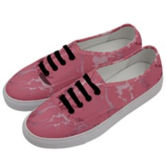 Luxurious Pink Marble Men s Classic Low Top Sneakers by tarastyle