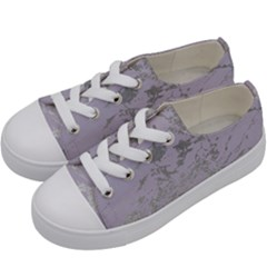 Luxurious Pink Marble Kids  Low Top Canvas Sneakers by tarastyle