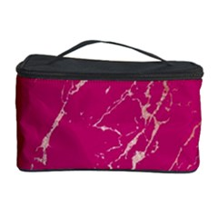 Luxurious Pink Marble Cosmetic Storage Case by tarastyle
