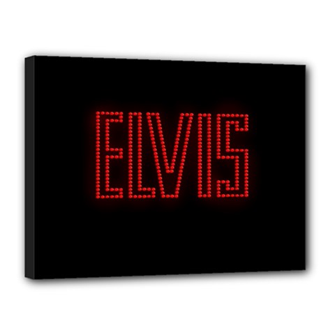 Elvis Presley Canvas 16  X 12  by Valentinaart