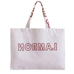 Normal Zipper Mini Tote Bag by Valentinaart