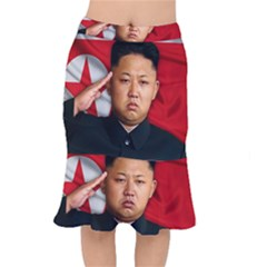 Kim Jong Un Mermaid Skirt by Valentinaart