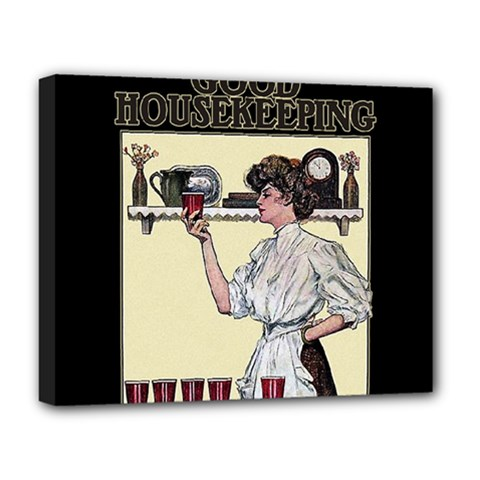 Good Housekeeping Deluxe Canvas 20  X 16   by Valentinaart