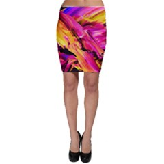 Abstract Acryl Art Bodycon Skirt by tarastyle