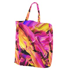 Abstract Acryl Art Giant Grocery Zipper Tote by tarastyle