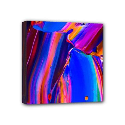 Abstract Acryl Art Mini Canvas 4  X 4  by tarastyle