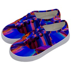 Abstract Acryl Art Kids  Classic Low Top Sneakers by tarastyle