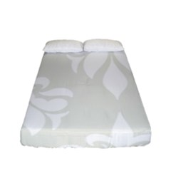 Fleur De Lis Fitted Sheet (full/ Double Size) by 8fugoso