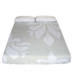 Fleur De Lis Fitted Sheet (king Size) by 8fugoso