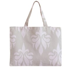 Fleur De Lis Zipper Medium Tote Bag by 8fugoso